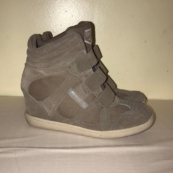sketcher wedge sneakers